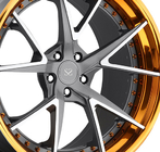 18 19 20 inch barrel and 10 inch lip 3 piece forged wheel rims