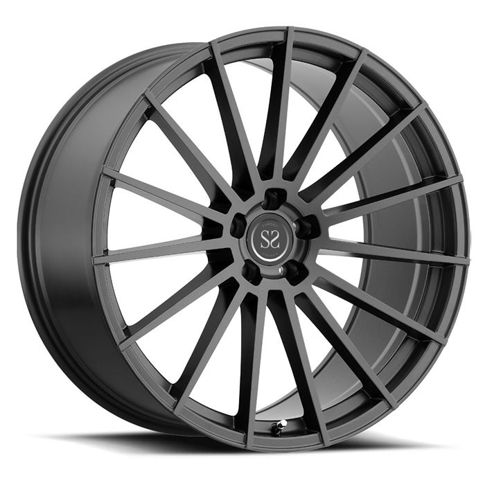 1-piece forged monoblock racing vehicle wheels rims For Ferrari Forged Wheels