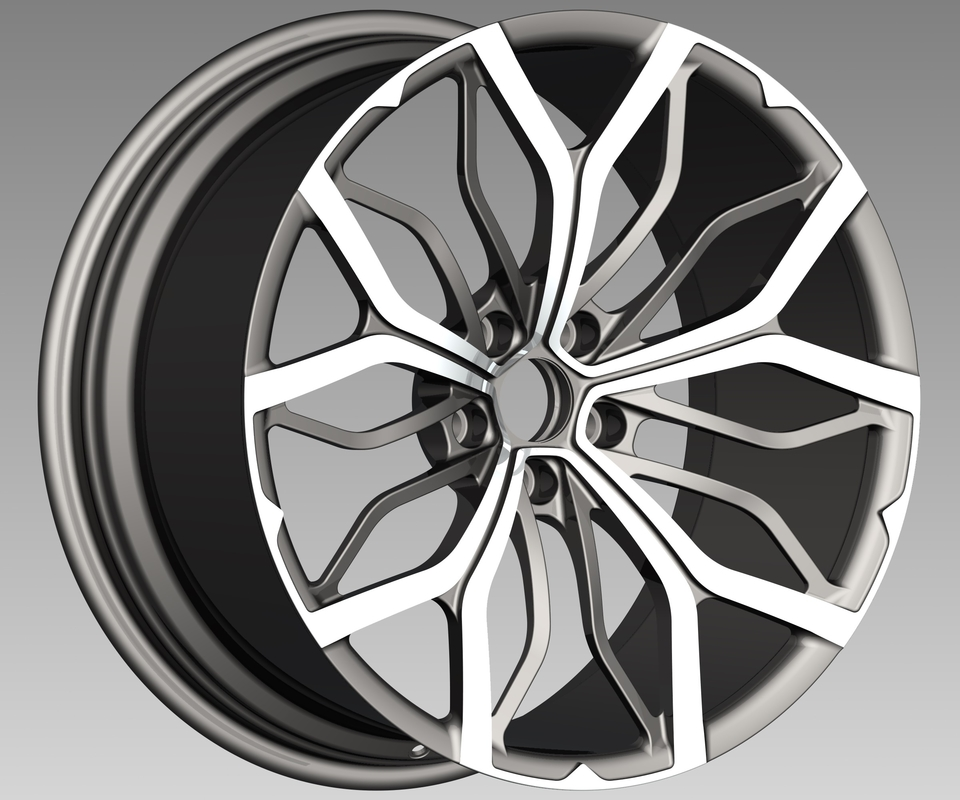 New Design One Piece Wheels China Manufacture Forged Alloy Rims