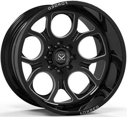 Off Road 4x4 Koła 20x10 20x12 20x14 24x12 i 24x14 Gloss Black Deep Dish Ramy